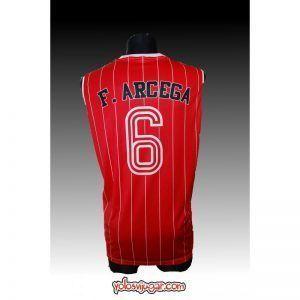 Camiseta Arcega ⑥ Retro ?❱❱Cai Zaragoza-detrás