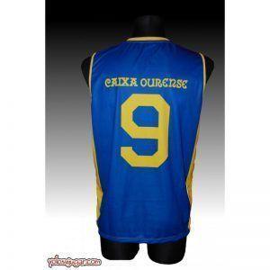 Camiseta Arnold Douglas ⑨ Retro ?❱❱COB Ourense-detrás