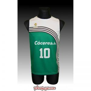 Camiseta Cáceres CB ⑩ Retro ?-delante
