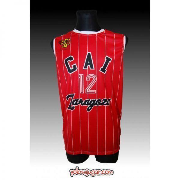 Camiseta Cai Zaragoza ①② Retro ?delante