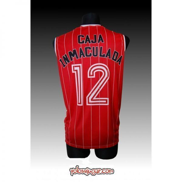 Camiseta Cai Zaragoza ①② Retro ?detrás