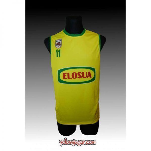 Camiseta Essie Hollis ①① Retro ?❱❱Elosua León-delante