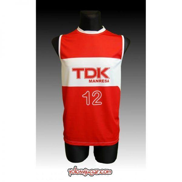 "Camiseta George Gervin ""The Iceman"" ①② Retro ?❱❱TDK Manresa-delante"