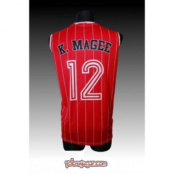 Camiseta K. Magee ①② Retro ?❱❱Cai Zaragoza-detrás