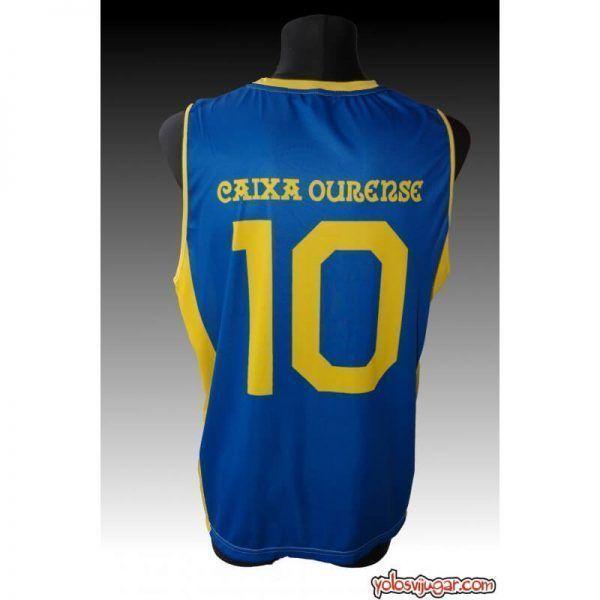 Camiseta Nacho Suarez ⑩ Retro ?❱❱COB Ourense-detrás