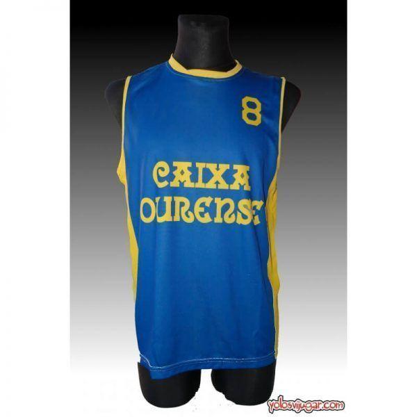 Camiseta Toño García ⑧ Retro ?❱❱COB Ourense-delante