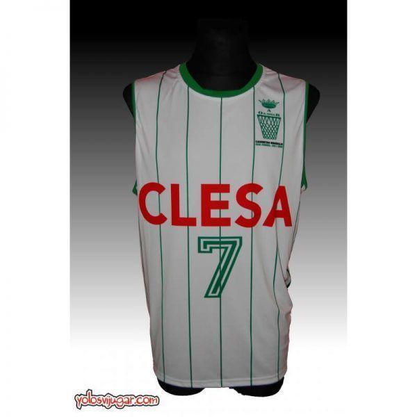 Camiseta Manolo Aller ⑦ Retro ?❱❱Oar Ferrol-delante
