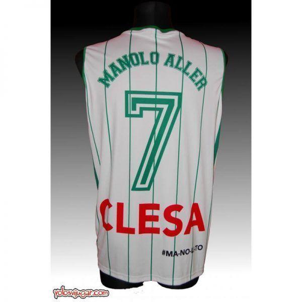 Camiseta Manolo Aller ⑦ Retro ?❱❱Oar Ferrol-detrás