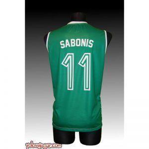 Camiseta Arvydas Sabonis ⑪ Retro ?❱❱Zalgiris Kaunas-detrás