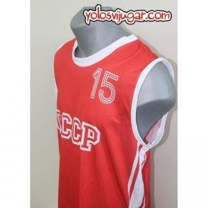 Camiseta Arvydas Sabonis ①⑤ Retro ?❱❱URSS 1987-lateral