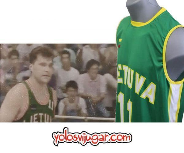 Camiseta Arvydas Sabonis ⑪ Retro ?❱❱Lituania