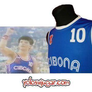 Camiseta Drazen Petrovic ⑩ Retro ?❱❱Cibona Zagreb