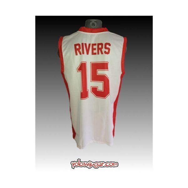 Camiseta David Rivers ①⑤ Retro ?❱❱Olympiacos Pireo-detrás