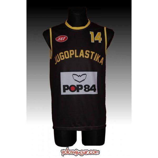 Camiseta Dino Radja ①④ Retro ?❱❱Jugoplastika Split-delante