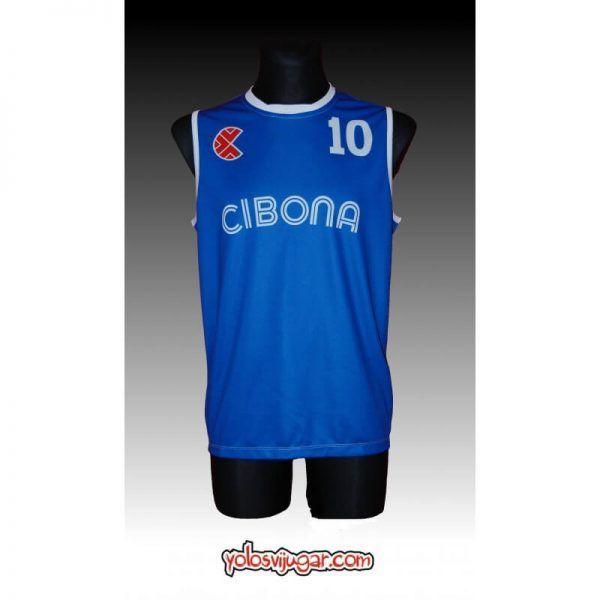 Camiseta Drazen Petrovic ⑩ Retro ?❱❱Cibona Zagreb-delante