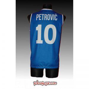 Camiseta Drazen Petrovic ⑩ Retro ?❱❱Cibona Zagreb-detrás