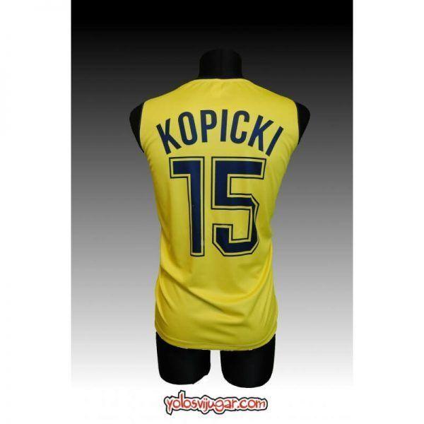 Camiseta Joe Kopicki ①⑤ Retro ? ❱❱Caja Bilbao-detrás