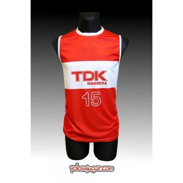 Camiseta Jordi Singla ①⑤ Retro ?❱❱TDK Manresa-delante