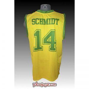 Camiseta Oscar Schmidt ①④ Retro ?❱❱Brasil-detrás