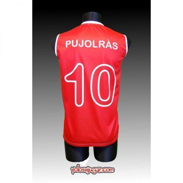 Camiseta Pep Pujolrás ⑩ Retro ?❱❱TDK Manresa-detrás
