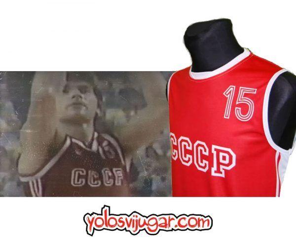 Camiseta Arvydas Sabonis ①⑤ Retro ?❱❱URSS 1987