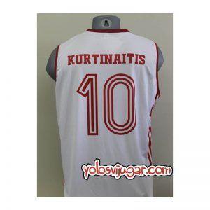 Camiseta Rimas Kurtinaitis ➉ Retro ?❱❱URSS 1987_detrás