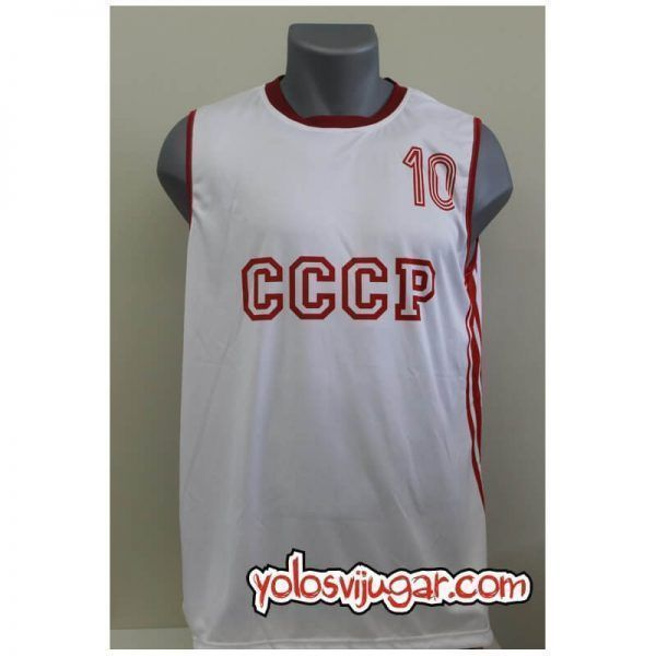 Camiseta Rimas Kurtinaitis ➉ Retro ?❱❱URSS 1987_delante