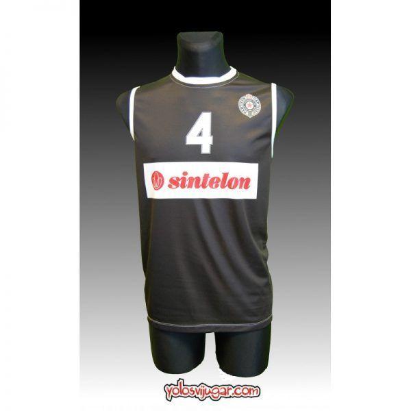 Camiseta Sasha Djordjevic ④ Retro ?❱❱Partizan Belgrado-delante