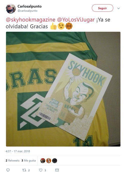 Camiseta Twitter Oscar Schmidt ①④ Retro ?❱❱Brasil
